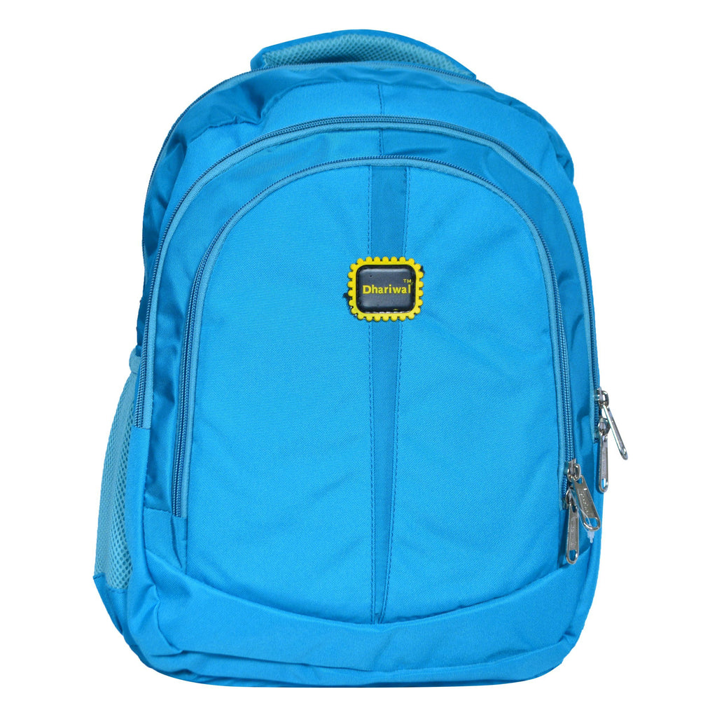 Dhariwal Ultra Light Weight Kids Unisex Dual Compartment School Backpack 25L SCB-315 School Bags Dhariwal Teal
