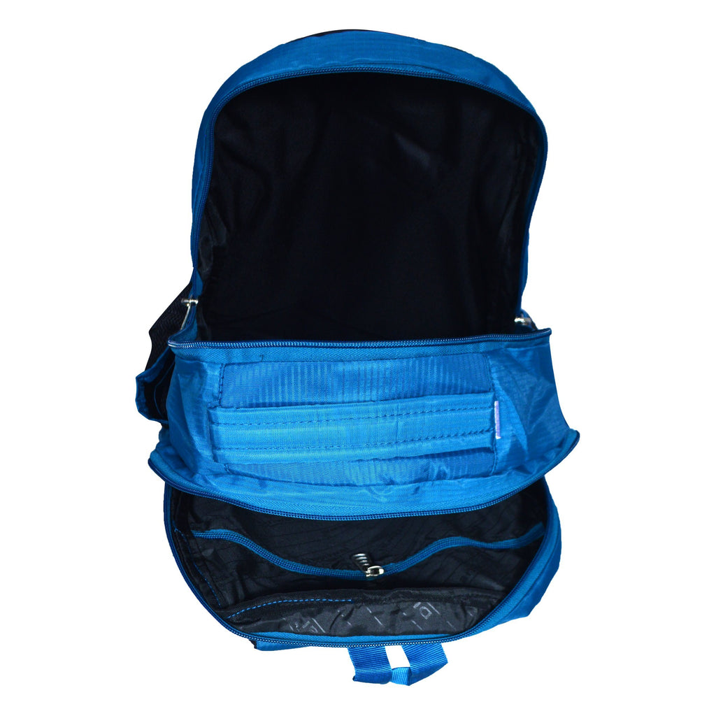 Dhariwal Ultra Light Weight Unisex Dual Compartment Backpack 29L SCB-316 School Bags Dhariwal