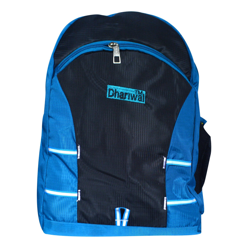 Dhariwal Ultra Light Weight Unisex Dual Compartment Backpack 29L SCB-316 School Bags Dhariwal Teal
