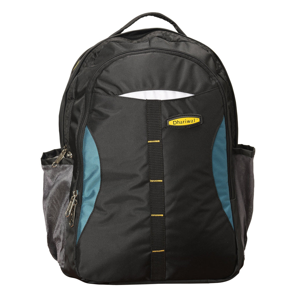 Dhariwal Unisex Dual Compartment Backpack 34L BP-223 BackPack Mohanlal Jain (Dhariwal Bags) Black