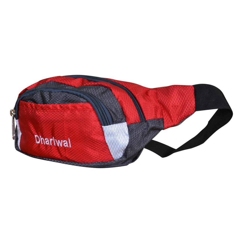 Dhariwal Waist Pack Travel Handy Hiking Zip Pouch Document Money Phone Belt Sport Bag Bum Bag for Men and Women Polyester WP-1201 Waist Pouch Dhariwal