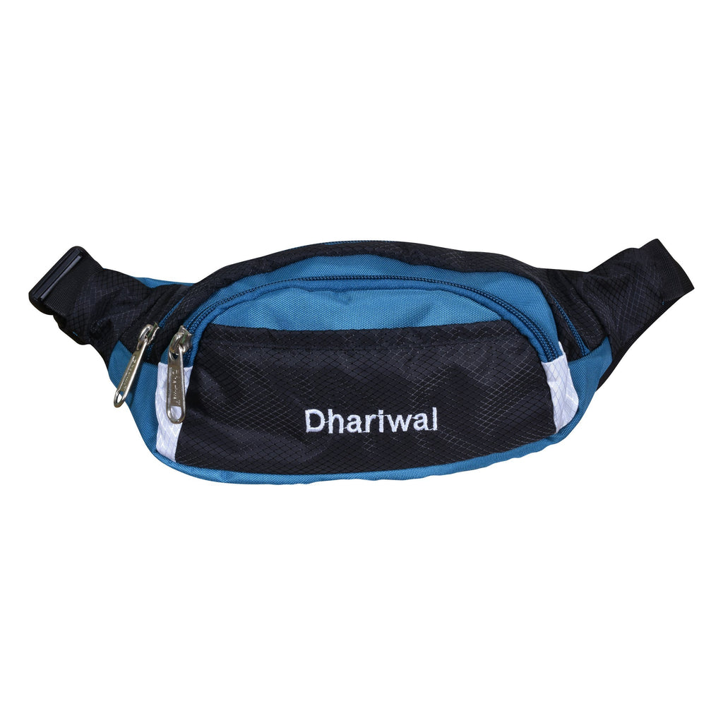 Dhariwal Waist Pack Travel Handy Hiking Zip Pouch Document Money Phone Belt Sport Bag Bum Bag for Men and Women Polyester WP-1201 Waist Pouch Dhariwal Teal