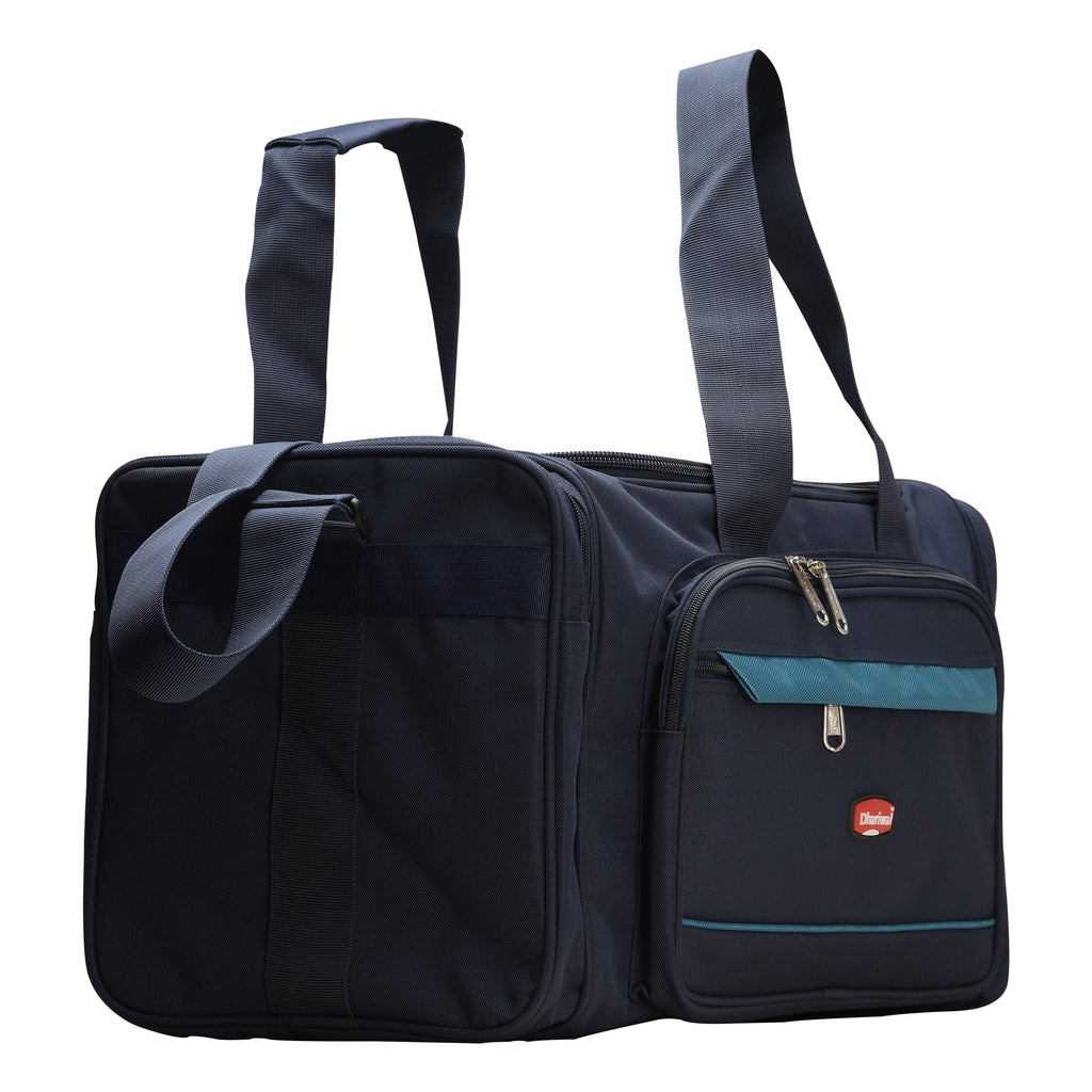 Handy Travelling Bag 900 X 900 Matty 50cm x 28cm x 22 cm TRB-518 Travelling Bags Dhariwal Blue