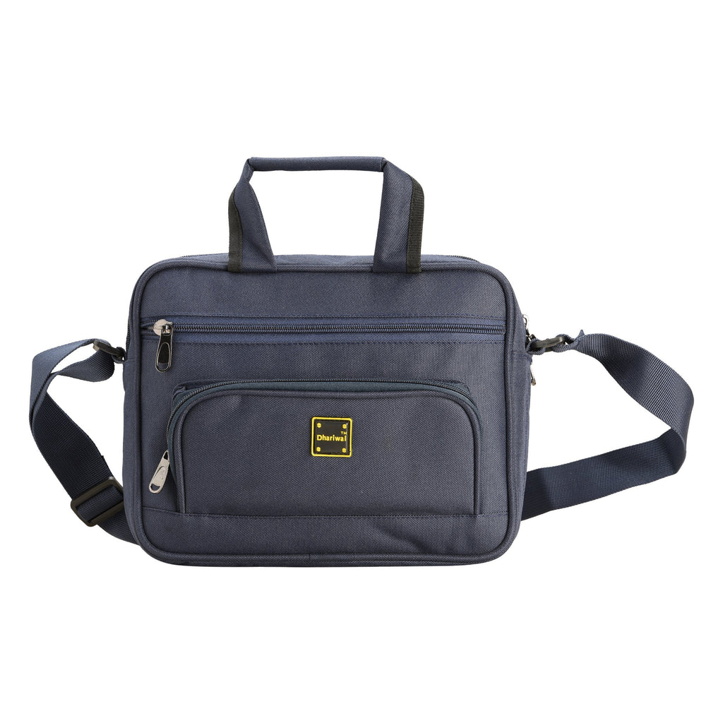 "Office Executive File Bag 12"" EB-602 Executive Bags Dhariwal Blue"