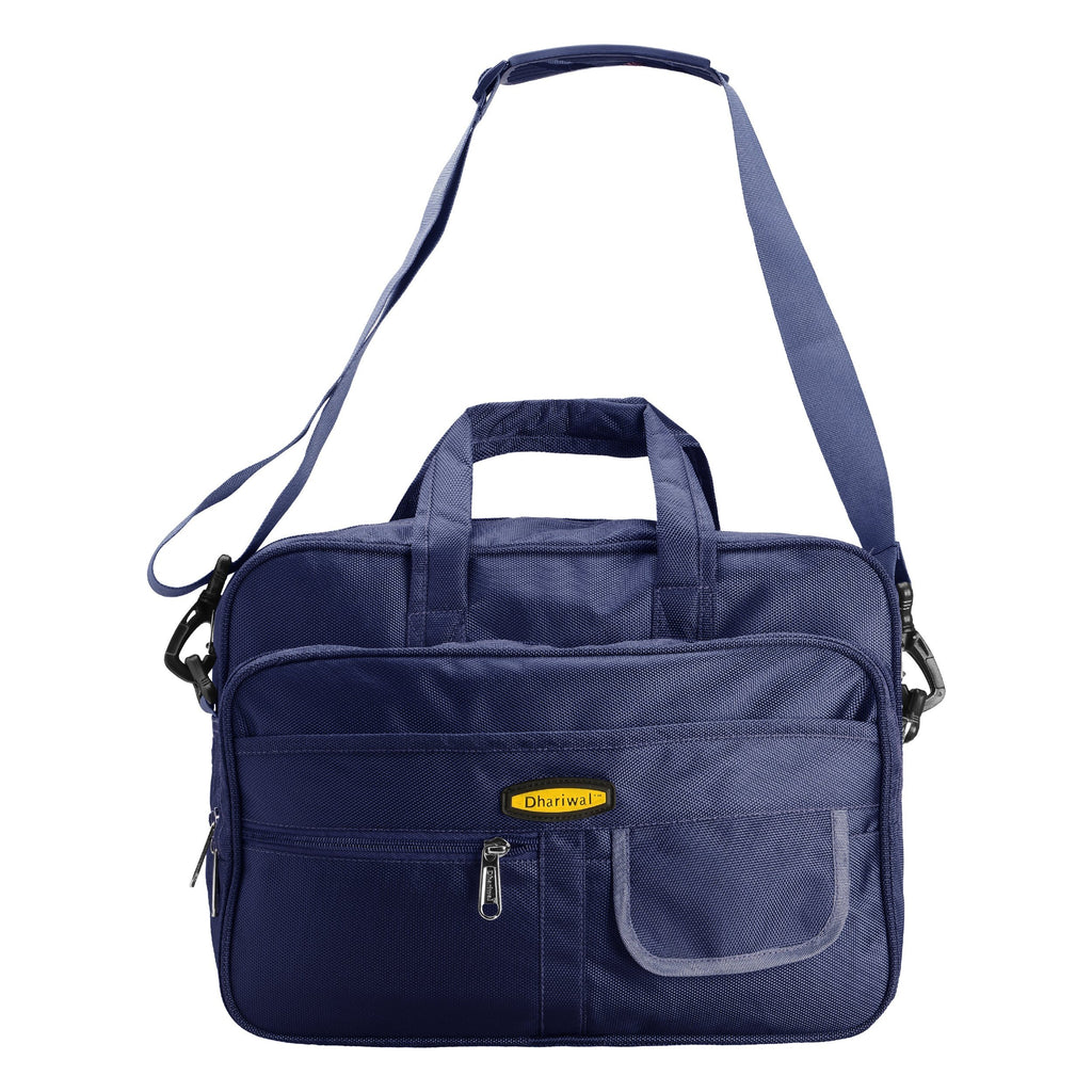 "Office Executive File Bag 1680 Matty 14"" EB-605 Executive Bags Dhariwal Blue"