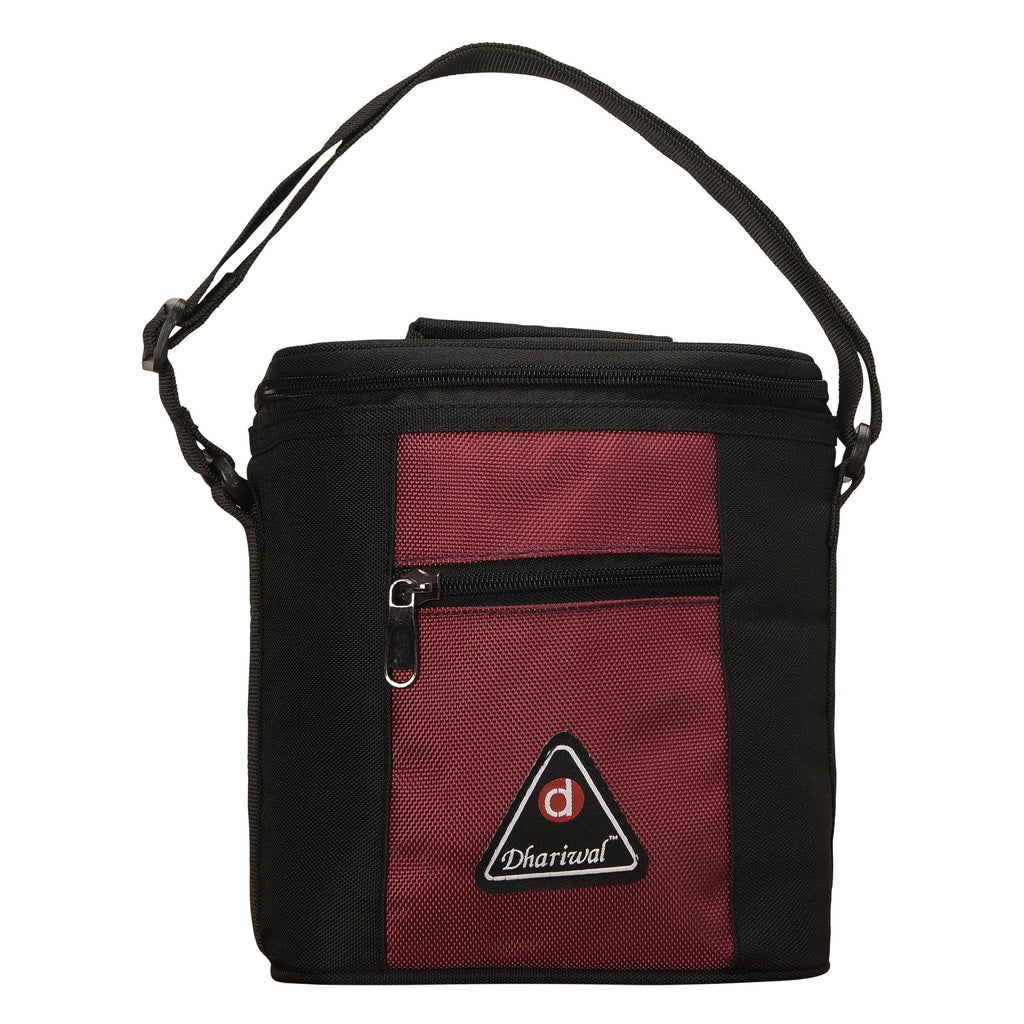 Tiffin Bag Round Zip - TB-410 - Big Tiffin Bags Dhariwal Black