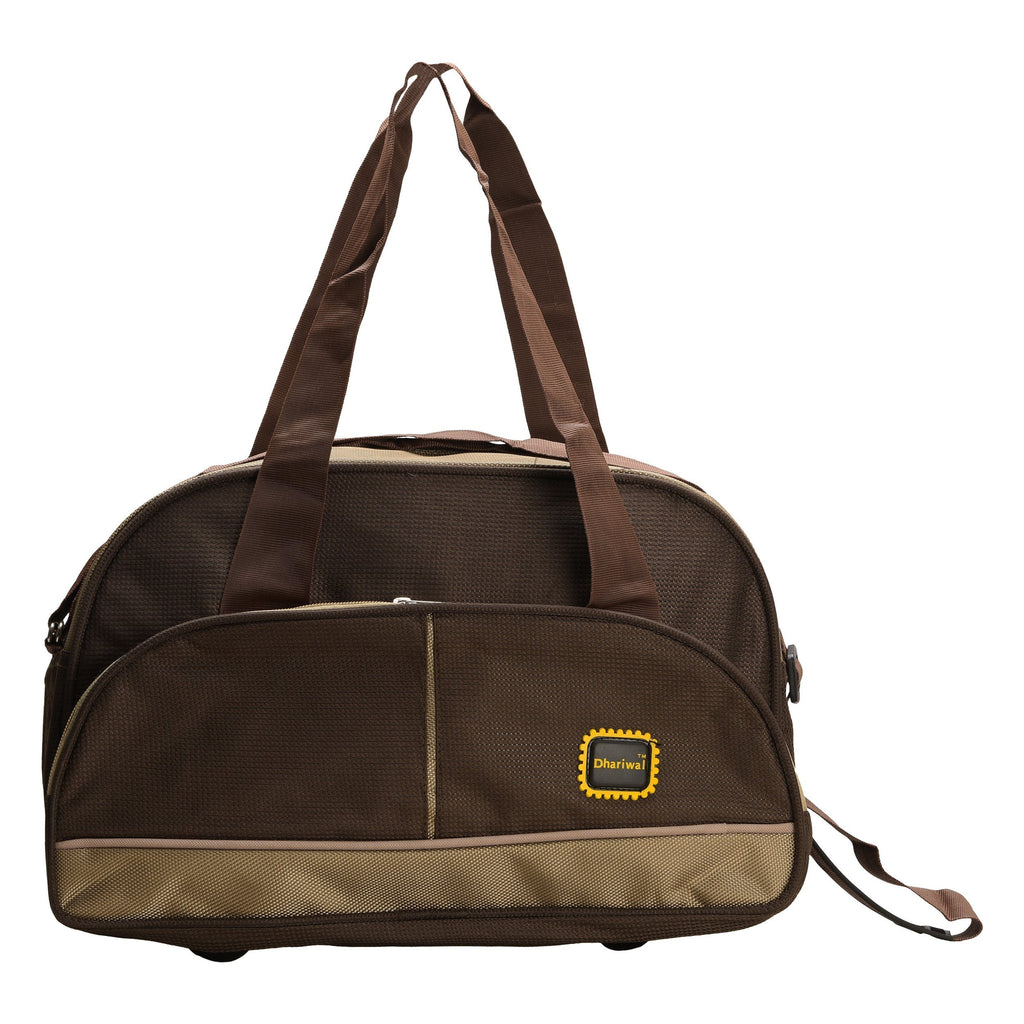 "Travelling Bag D 16"" TRB-508 - Small Travelling Bags Dhariwal Brown"