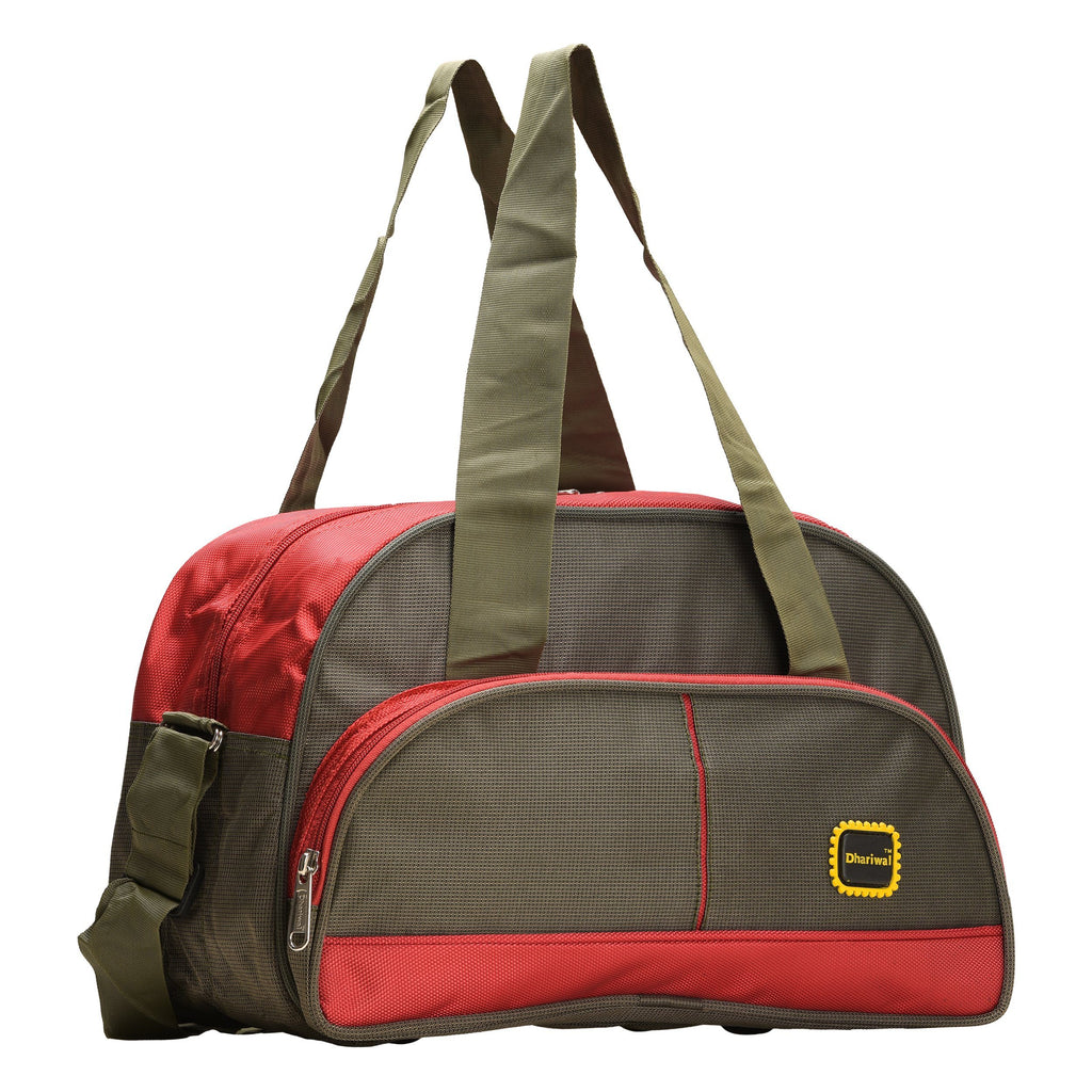 "Travelling Bag D 16"" TRB-508 - Small Travelling Bags Dhariwal Green"