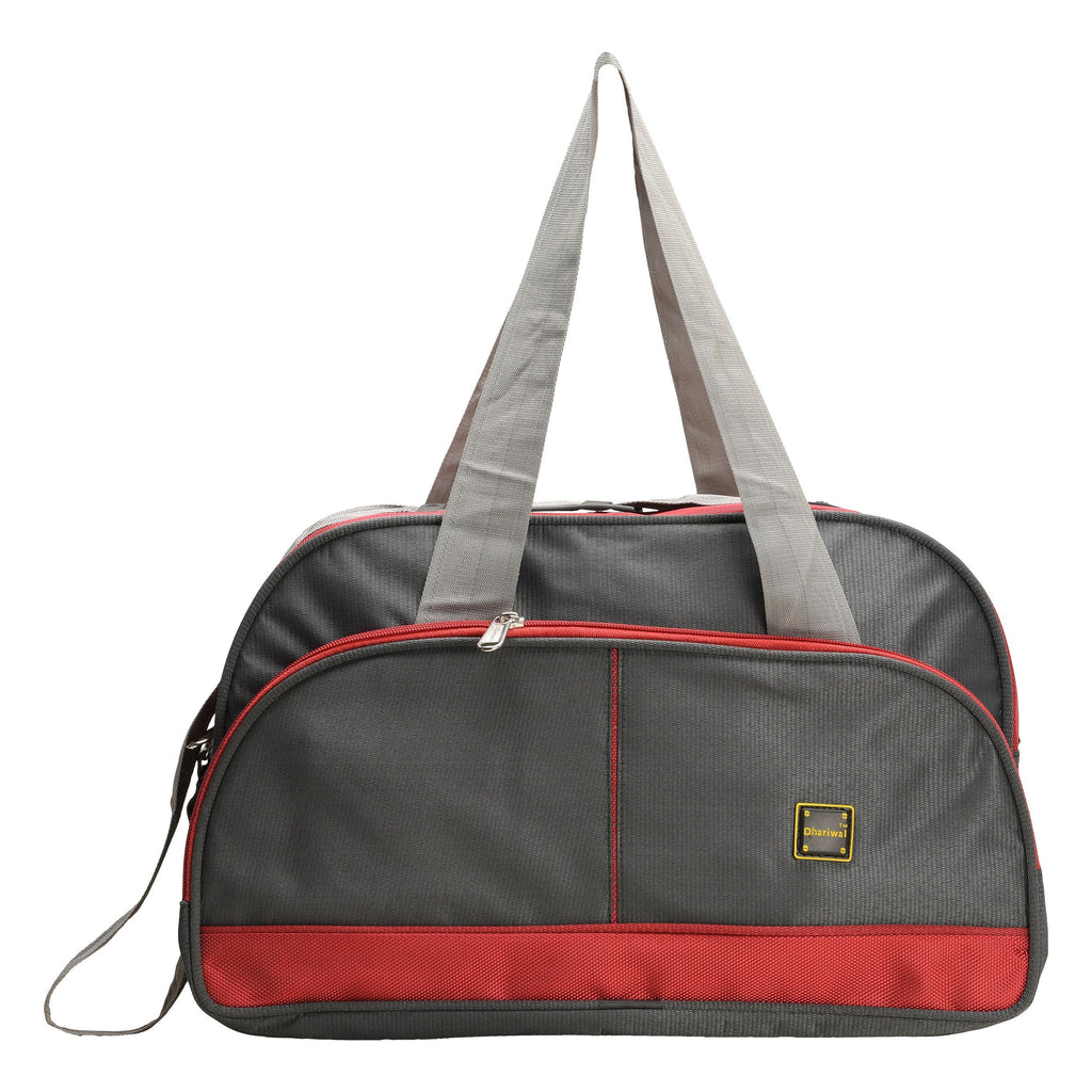 "Travelling Bag D 16"" TRB-508 - Small Travelling Bags Dhariwal Grey"