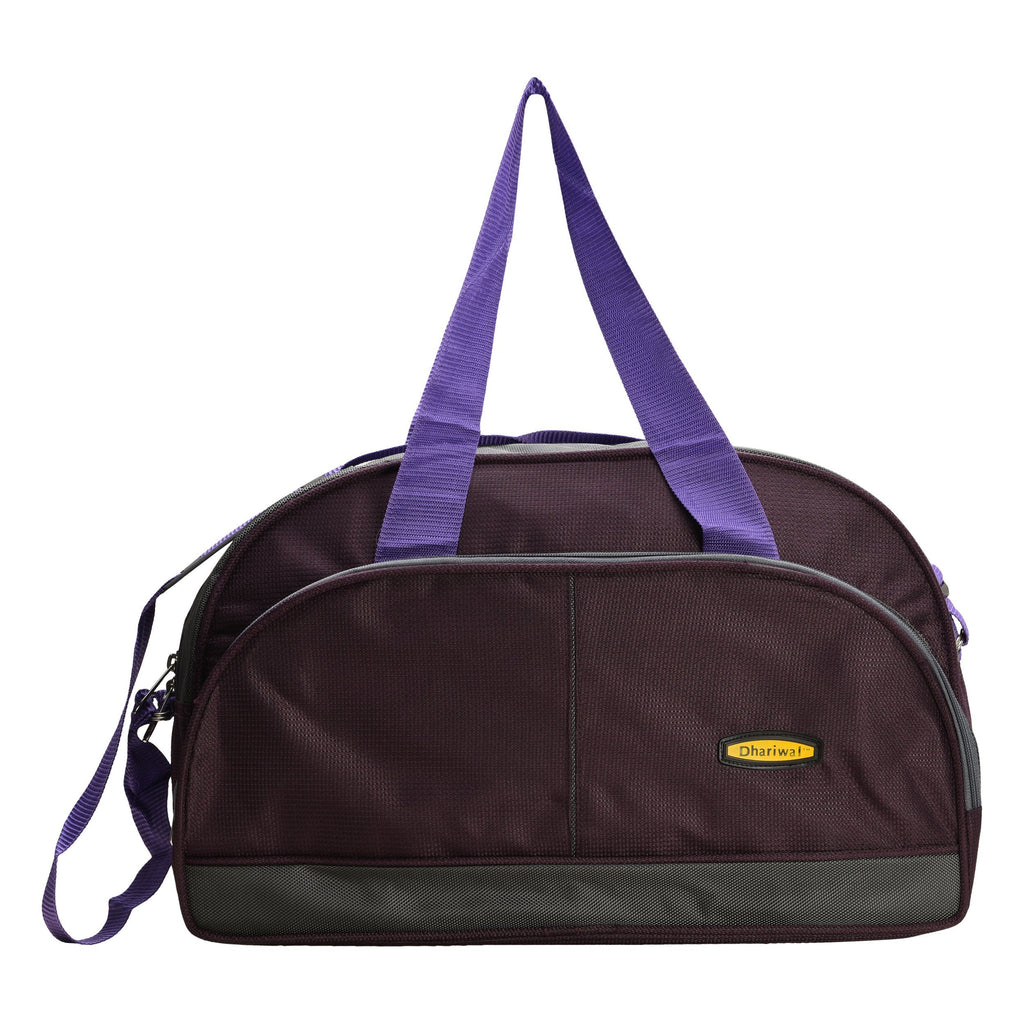 "Travelling Bag D 16"" TRB-508 - Small Travelling Bags Dhariwal Purple"