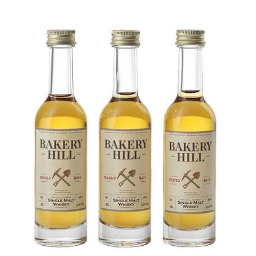 Bakery Hill single Malt Whisky Miniatures