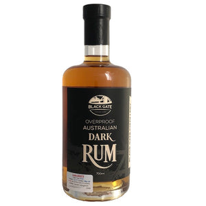 Black Gate Overproof Dark Rum BG076, 51.4% ABV   700ml