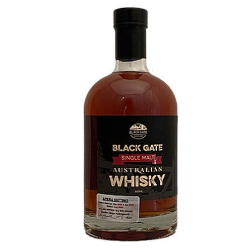 Black Gate Single Malt Australian Whisky - Apera Vatting