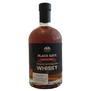 Black Gate Peated Single Malt Whisky ex Port Cask BG 068