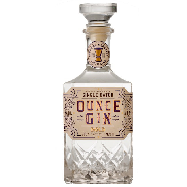 Imperial Measures Ounce Gin Bold