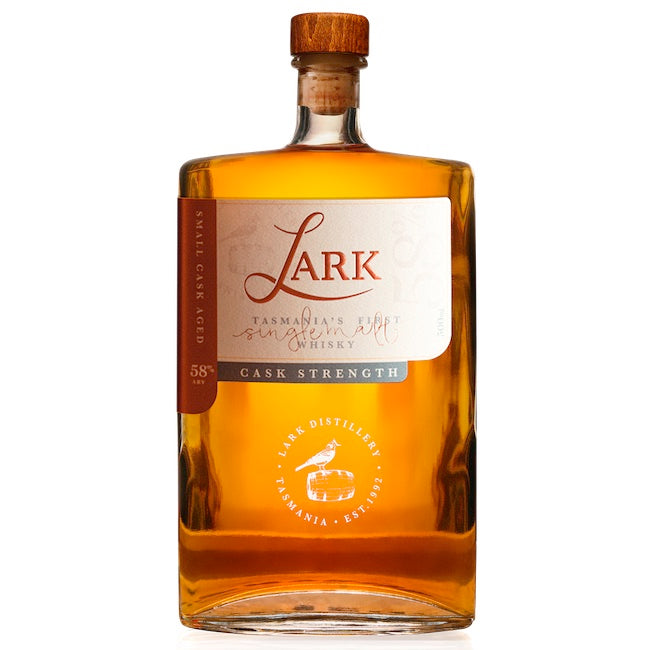 Lark Single Malt Whisky Cask Strength 58% ABV | 500 mL