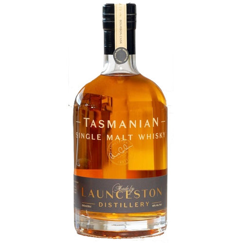 Launceston Distillery Tasmanian Single Malt Whisky Bourbon Cask 46% ABV | 500 mL