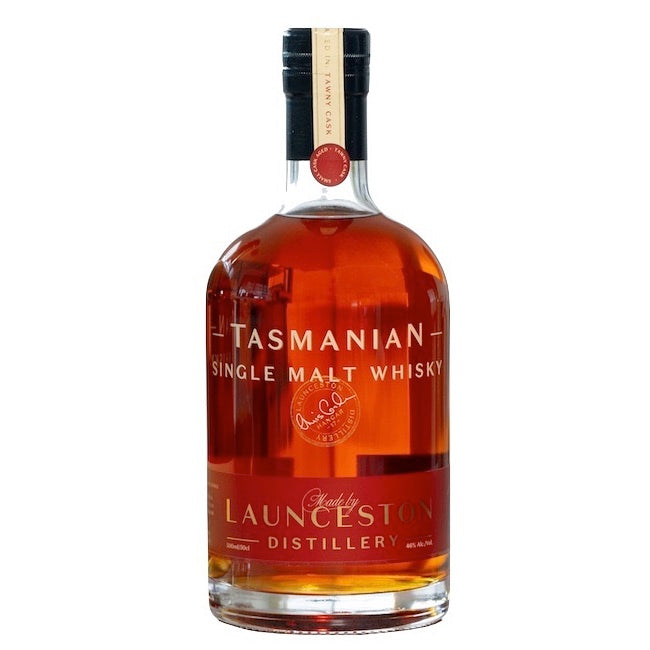Launceston Distillery Tasmanian Single Malt Whisky Tawny Cask Batch H17-10