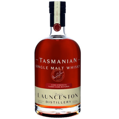 Launceston Distillery Tasmanian Single Malt Whisky Tawny Cask Strength, Batch H17-09