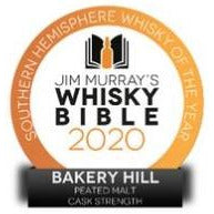 Bakery Hill Peated Single Malt Cask Strength ABV 60% | 500 mL