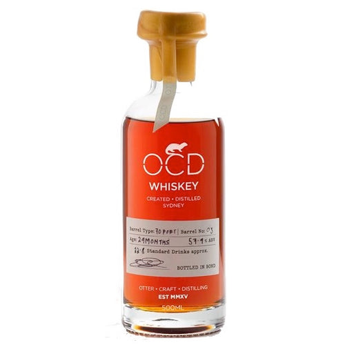 OCD Single Malt Whiskey Barrel 03 Cask Strength