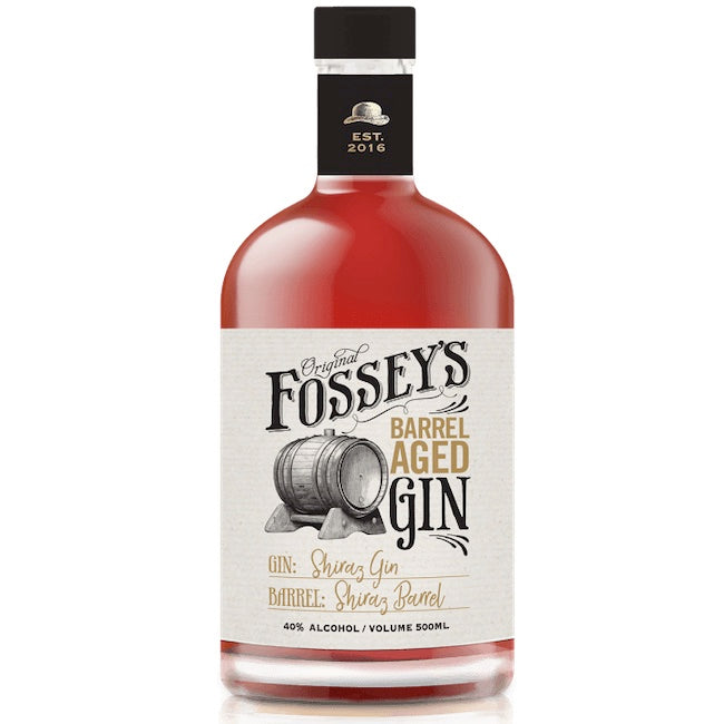 Fossey's Shiraz Gin on a Barossa Valley ex Shiraz Barrel (Shaved and Toasted)