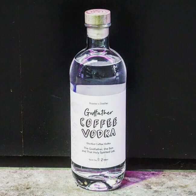 Godfather Distilled Coffee Vodka