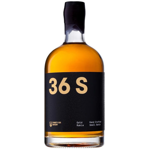 36 Short Gold Rakia