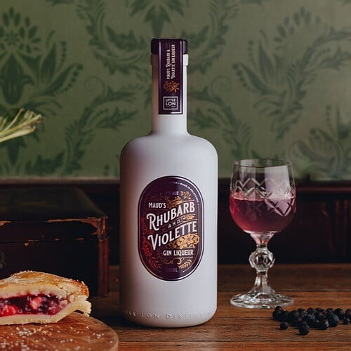 Maud's Rhubarb and Violette Gin Liqueur