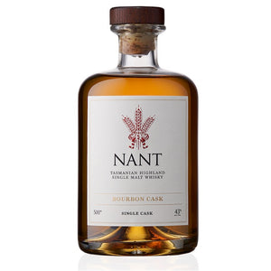 Nant Tasmanian Highland Single Malt Whisky Bourbon Cask