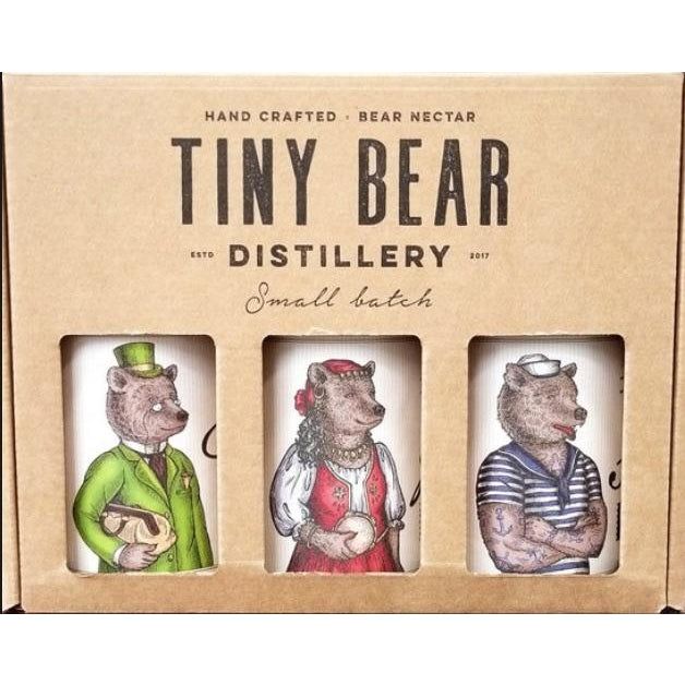 Tiny Bear Gin Trio