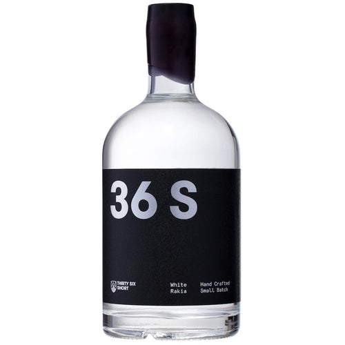 36 Short White Rakia