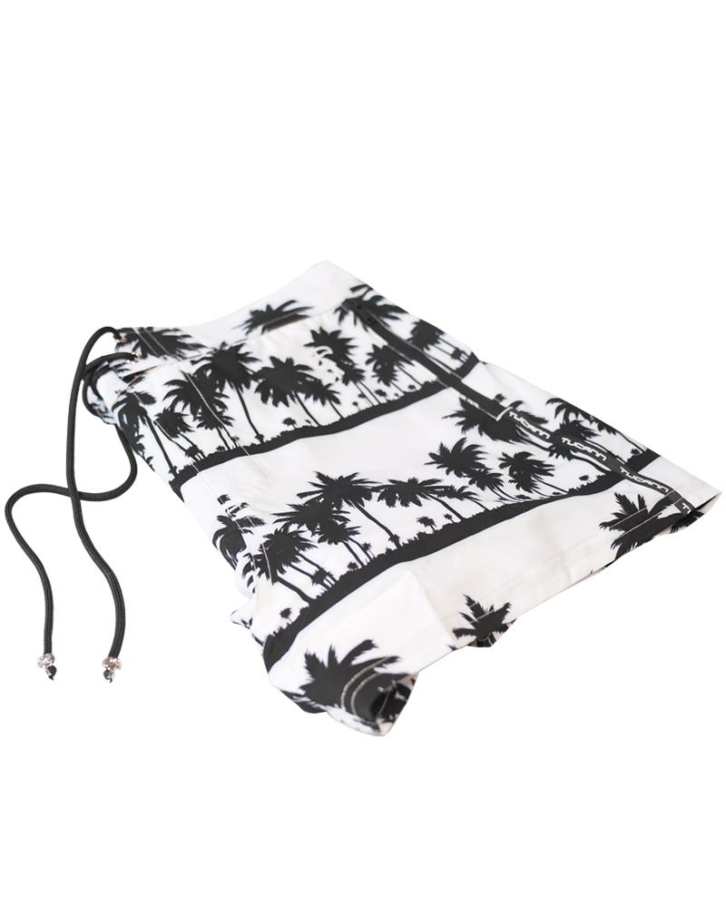 Black Palms White Shorts / Board shorts Tucann
