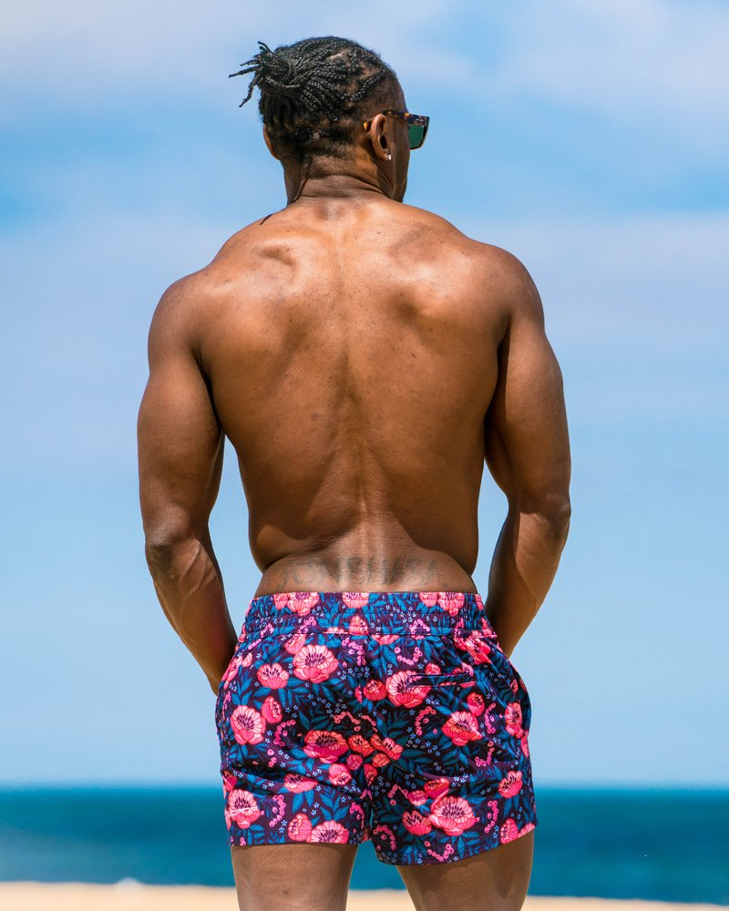 Poppy Blue Swim Shorts Shorts / Board shorts Tucann