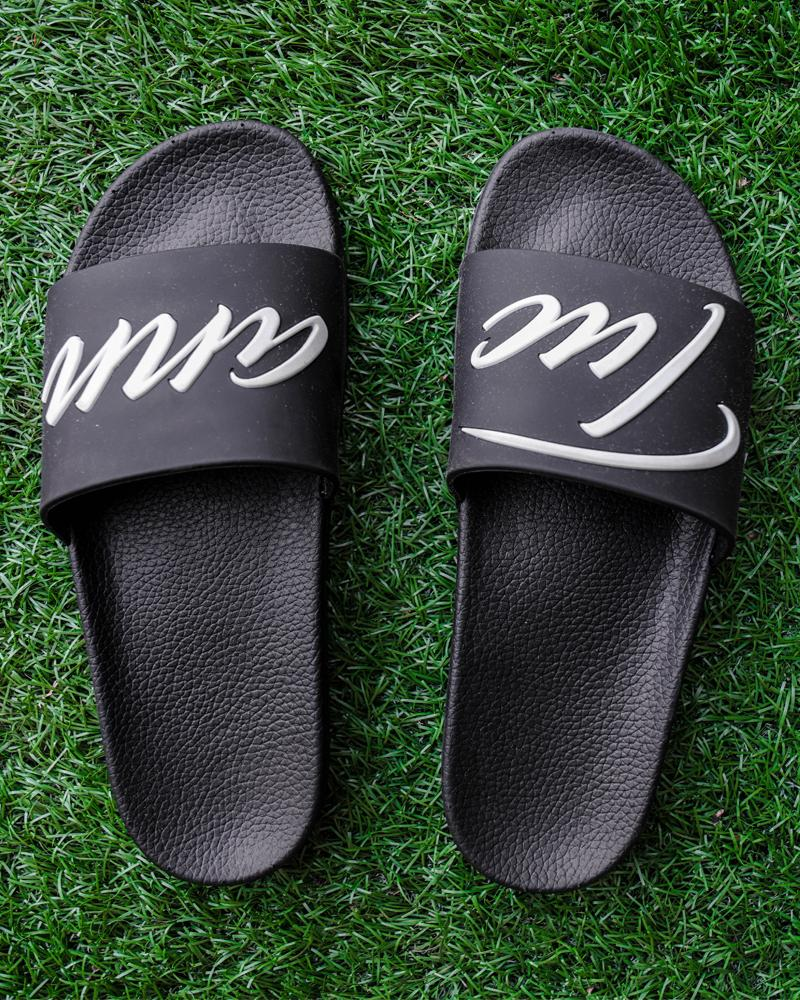 Signature Slides Black Footwear Tucann