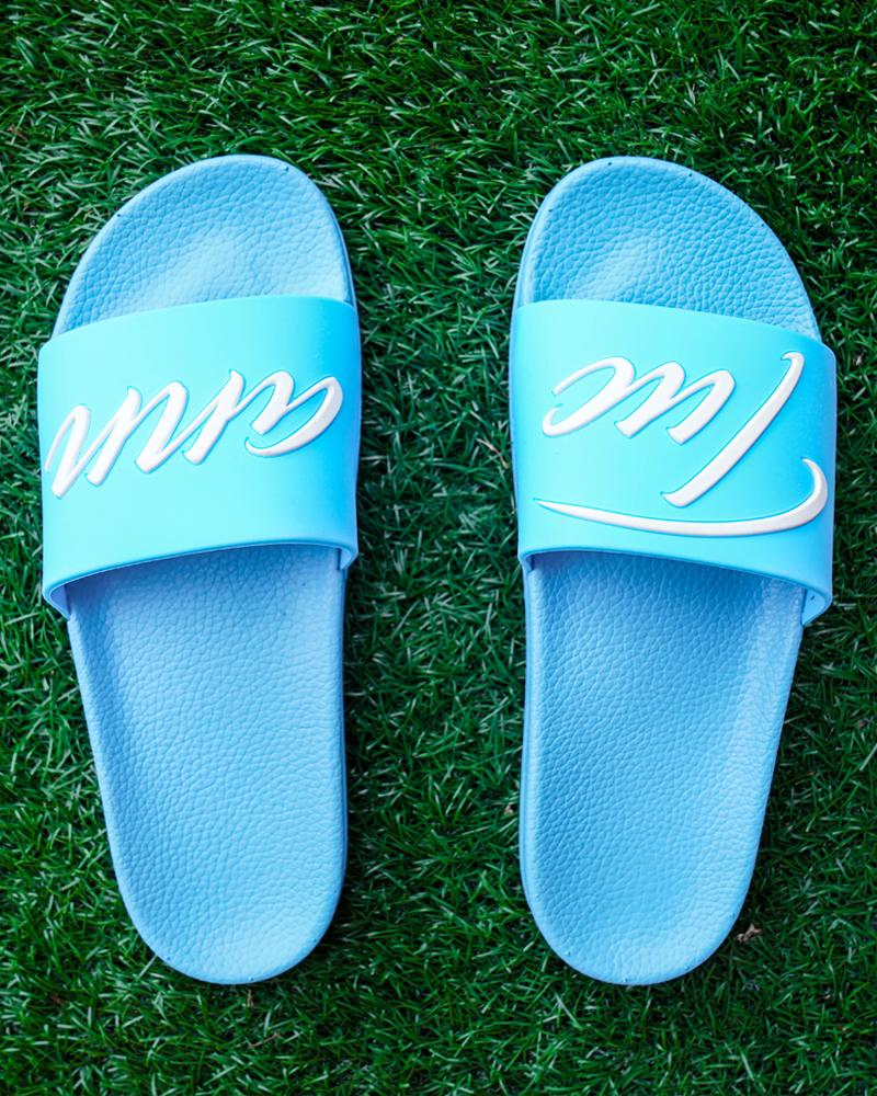 Signature Slides Blue Footwear Tucann