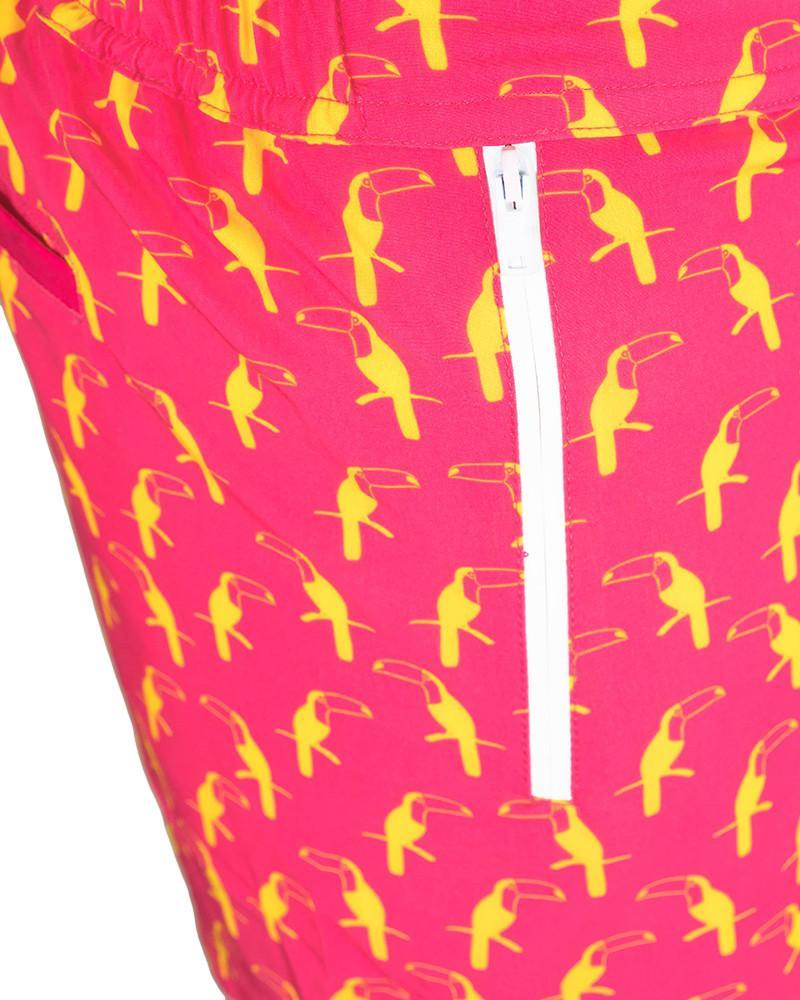 Watermelon Pink Swim Shorts Shorts / Board shorts Tucann