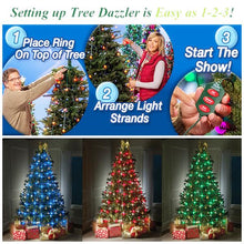 Load image into Gallery viewer, Christmas Tree LED String Lights