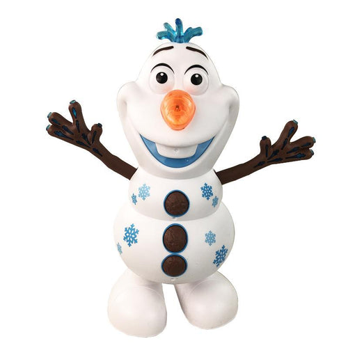 Buydubuy Electric Dancing Music Snowman Toy