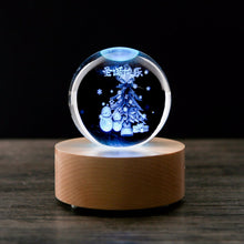 Load image into Gallery viewer, Crystal Music Box LED Wireless Bluetooth