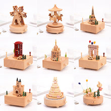 Load image into Gallery viewer, Christmas Wooden Music Box Birthday Gift