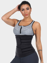 Load image into Gallery viewer, Cosmolle Latex Waist Training Shaper Double Belts for Workout
