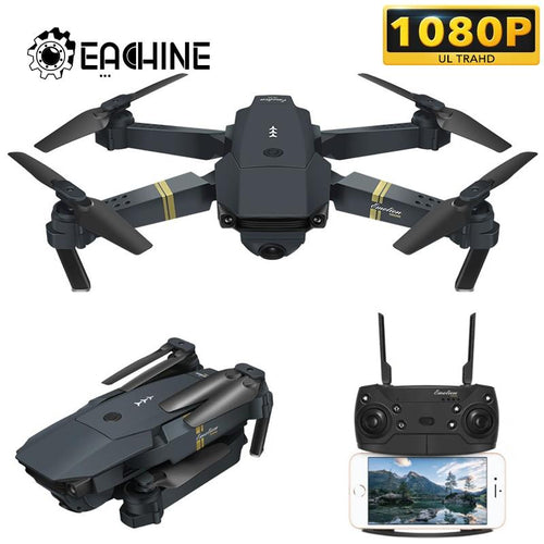 High-retention mode foldable drone with wide-angle HD 1080P camera