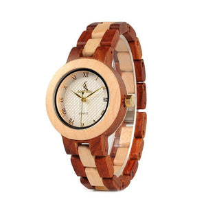 To My Wife - You Will Forever Have My Heart - Engraved Wooden Watch