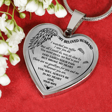 Load image into Gallery viewer, MY BELOVED HUSBAND - SILVER VERSION - NECKLACE