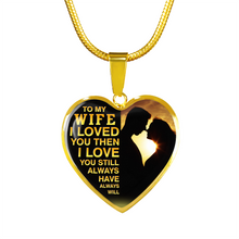 Load image into Gallery viewer, MY WIFE - LOVE YOU (GOLD)