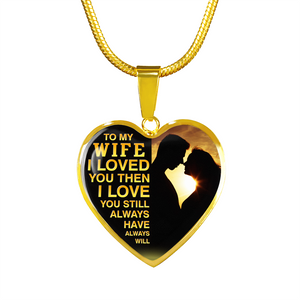 MY WIFE - LOVE YOU (GOLD)