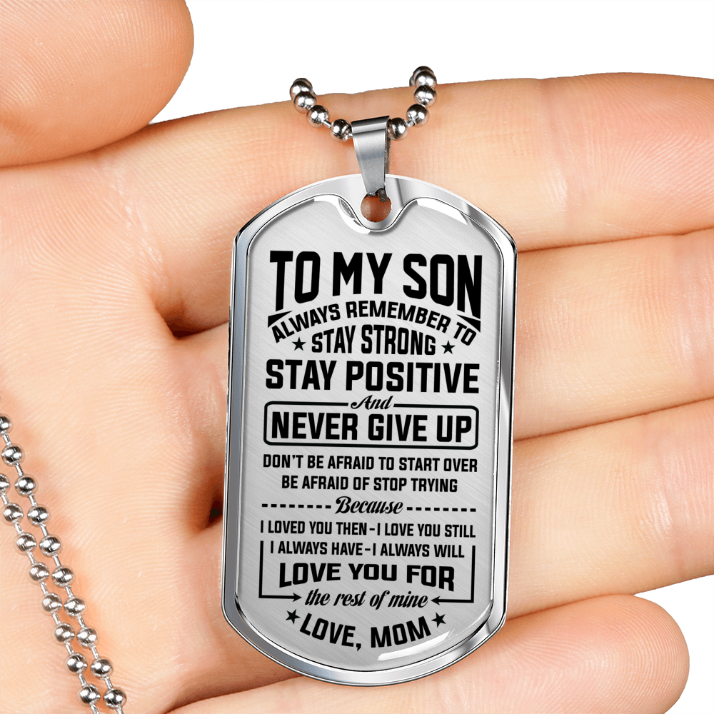 SON MOM - NEVER GIVE UP
