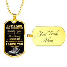 Load image into Gallery viewer, SON MOM - LAST BREATH (GOLD)