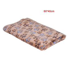 Load image into Gallery viewer, New Pet Small House Folding Portable Soft Warm Blanket